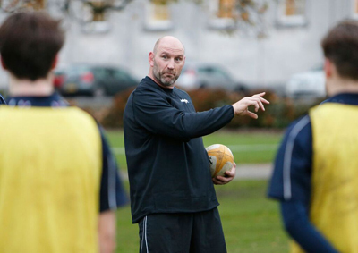 Former England Captain, Lawrence Dallaglio Comes to Haileybury