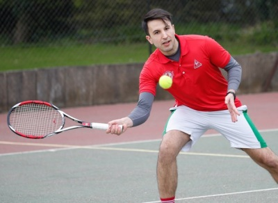 OH Tennis vs. School