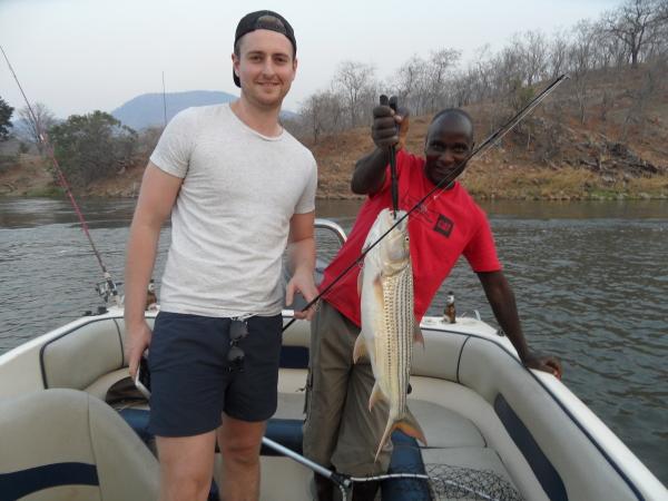 Fishing on the Zambezi