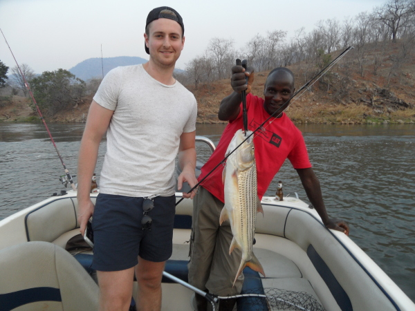 Fishing on the Zambezi
