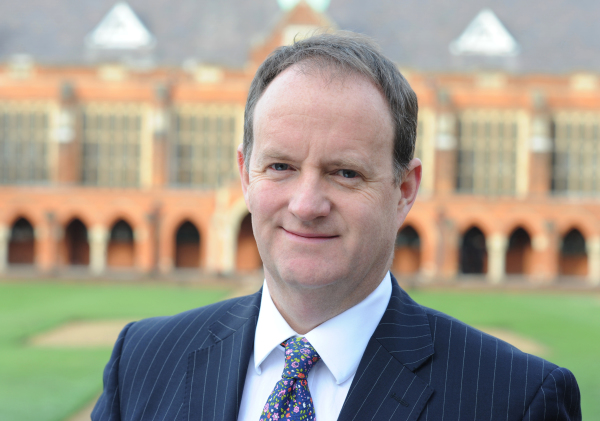 A warm welcome to the new Master of Haileybury