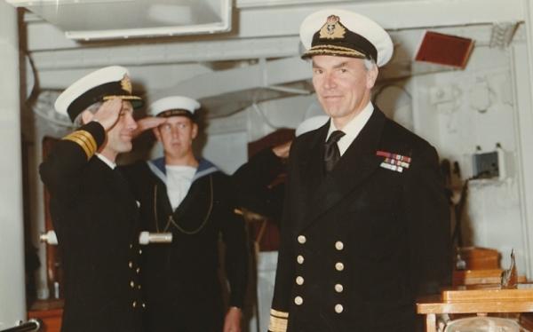 Rear-Admiral Derek Satow RN CB (E '37)