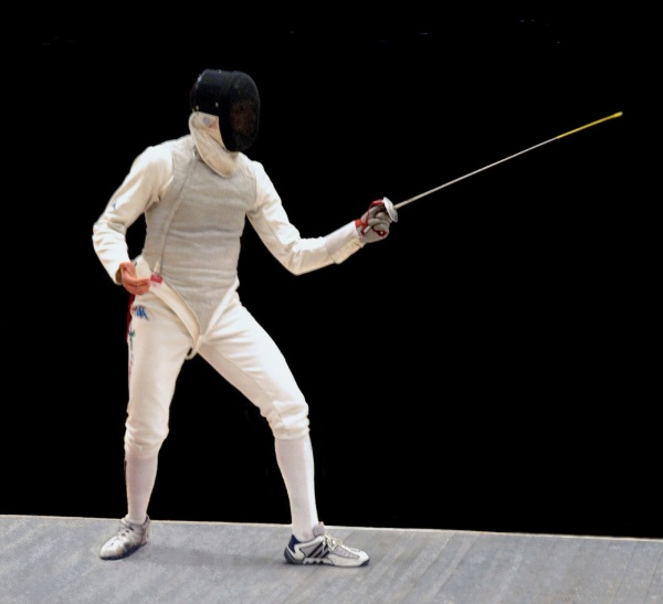 England in the Veteran 4 Nation Fencing Match