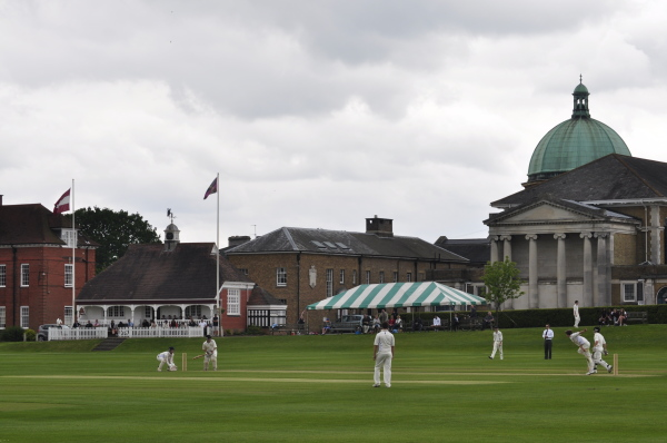 Match Report Sherborne Pilgrims vs Haileybury Hermits: a terrific game