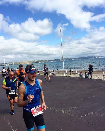 Scott Woods (LS & Th 08) - Paris Marathon