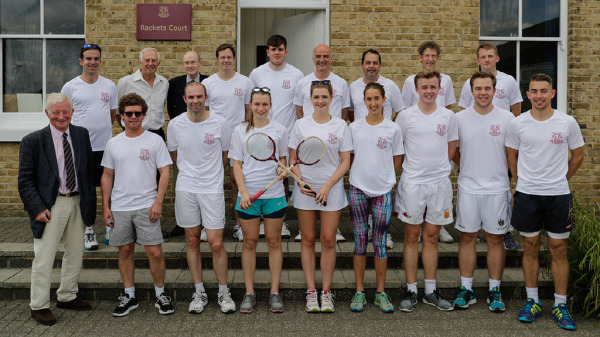 OH Rackets (Richard Palmer Trophy) - a wonderful day, followed by dinner and drinks