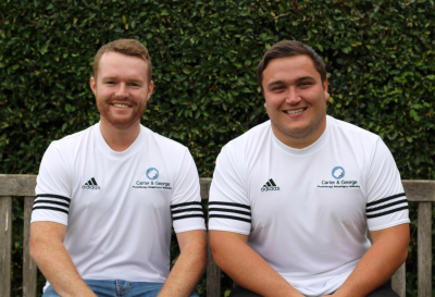 Jamie George and Rhys Carter launch physio practice