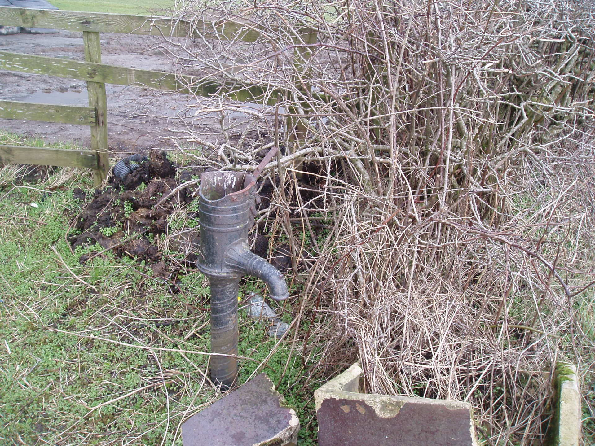 macfarlane water pump ettrick smiddy