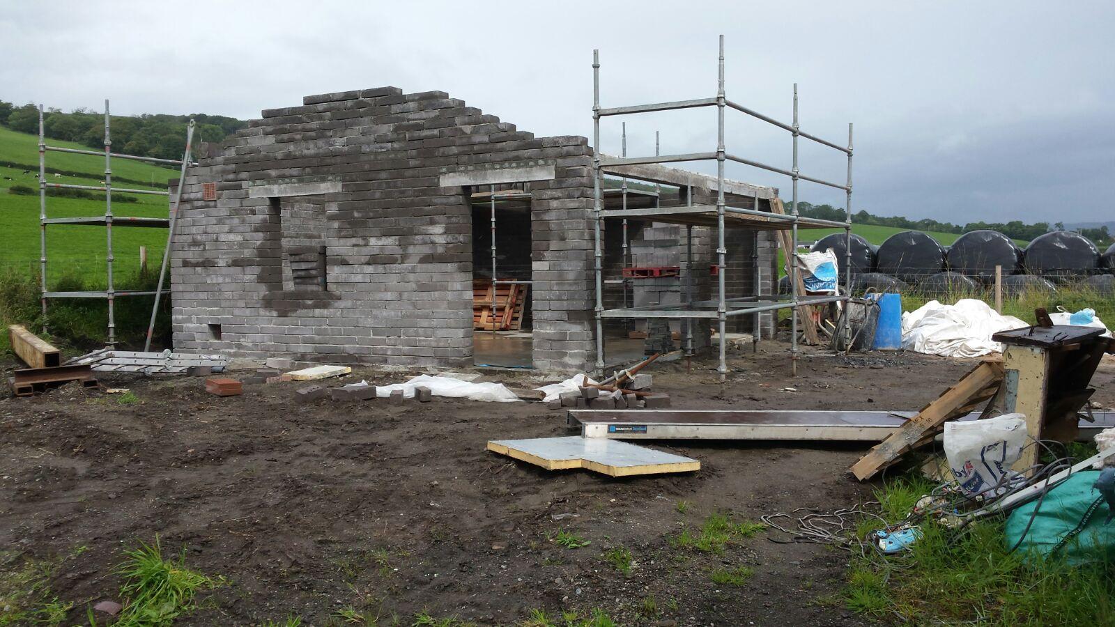 garage taking shape