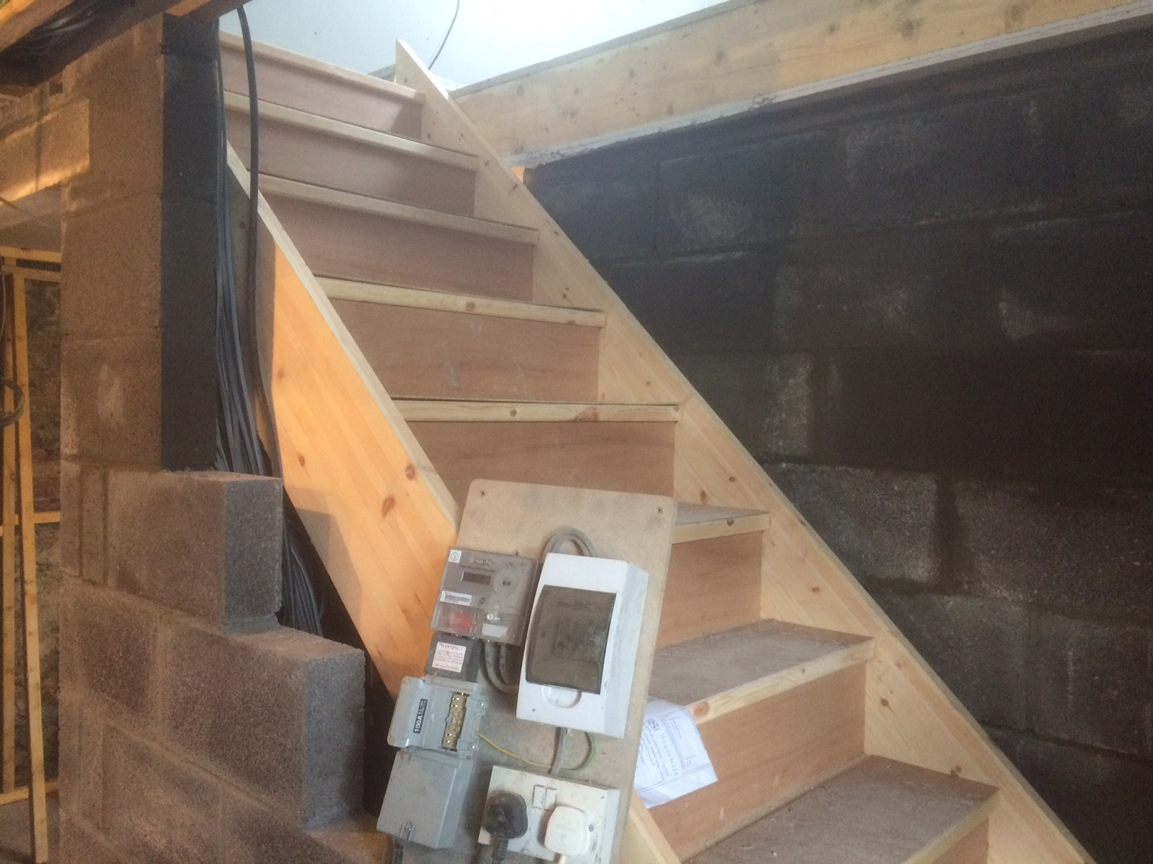 staircase installed