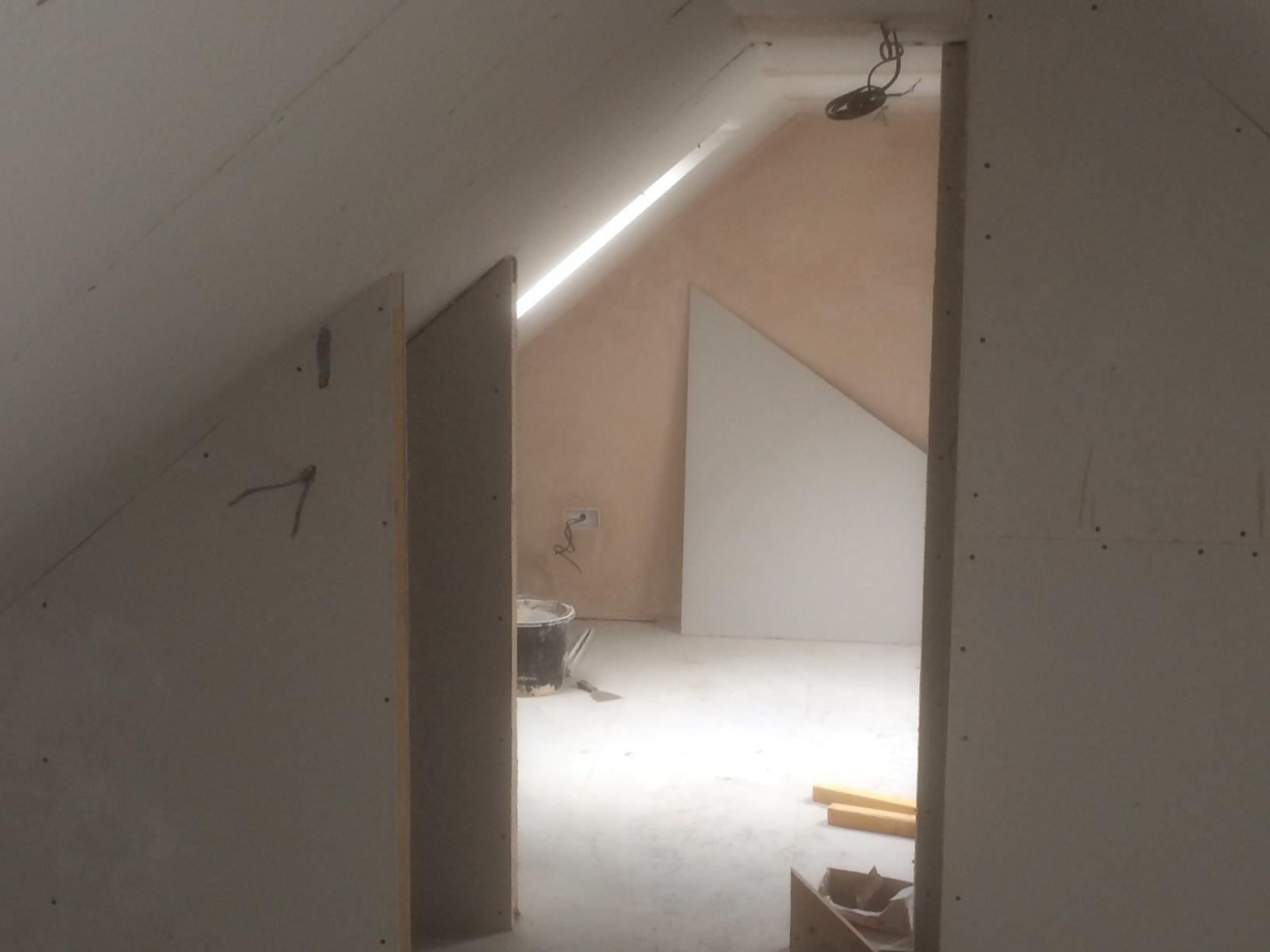 upstairs rooms coming along