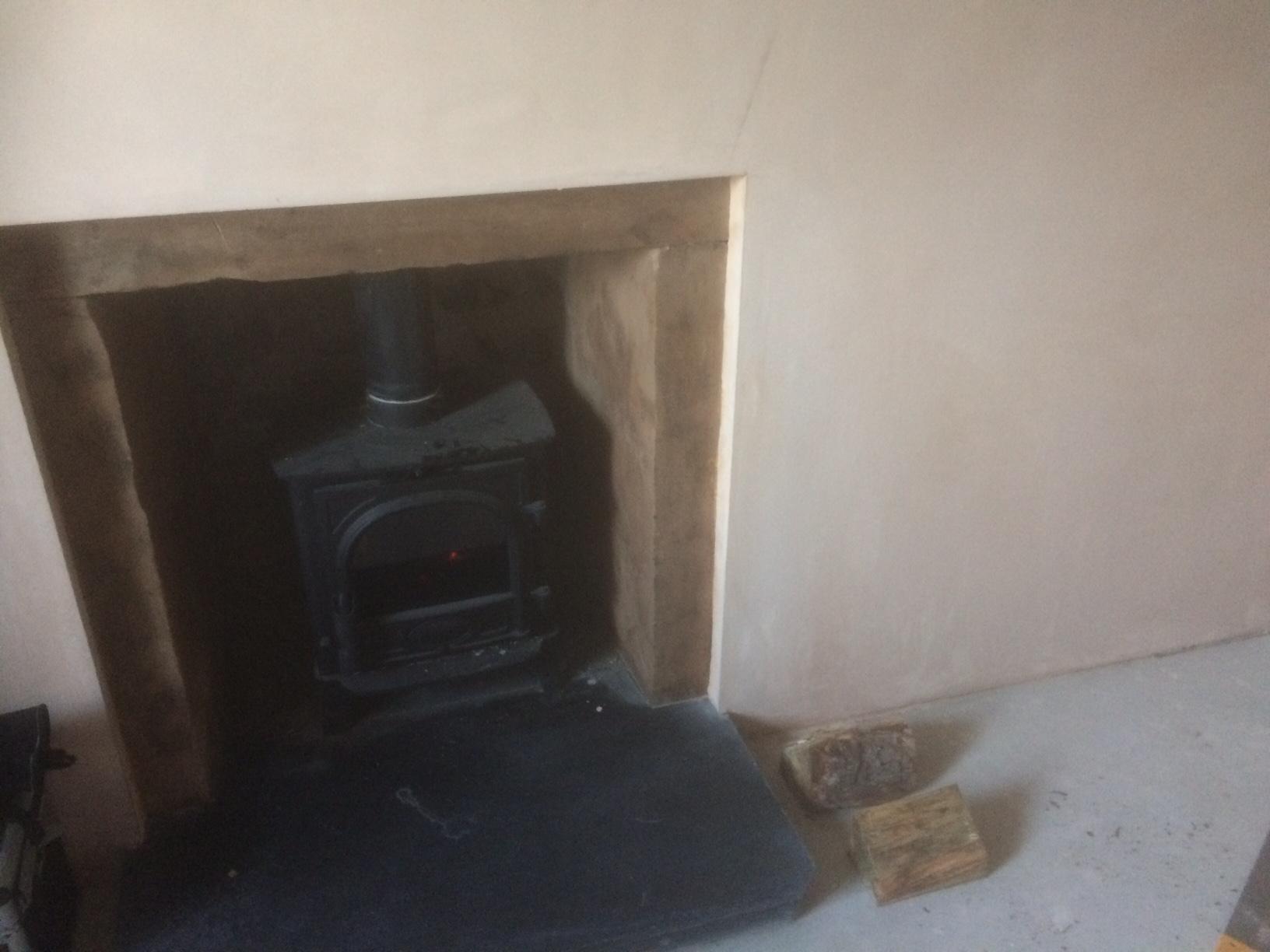 log burners in