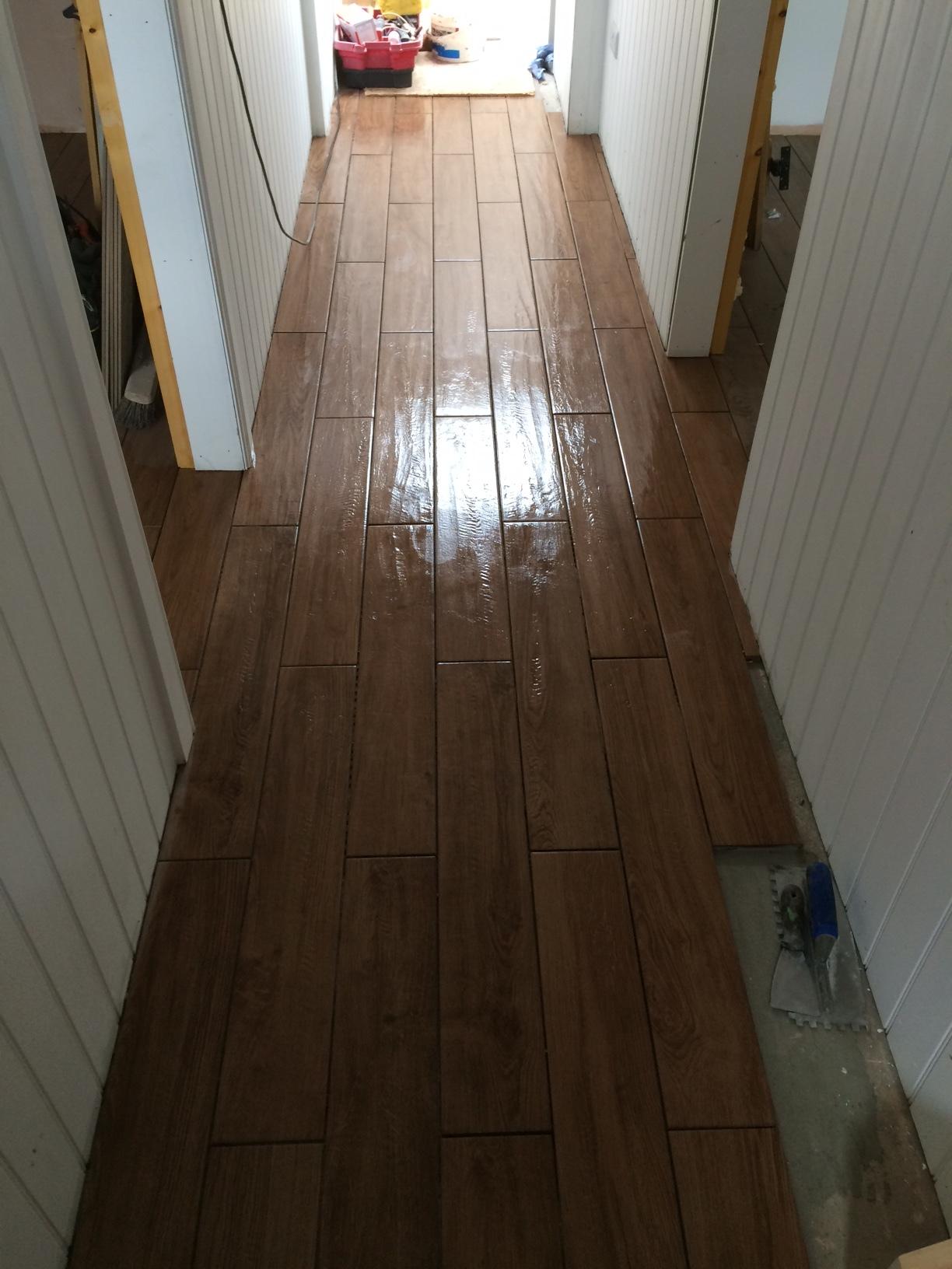 floors tiled