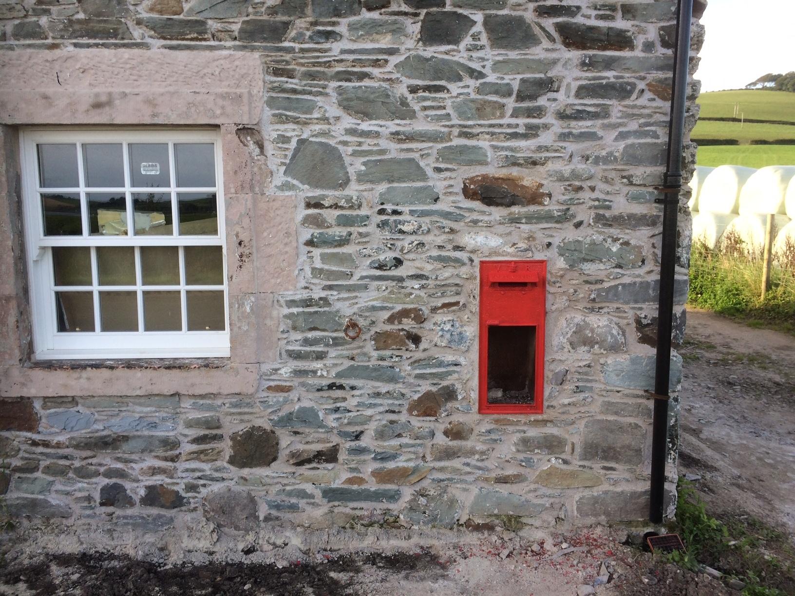 post box restored