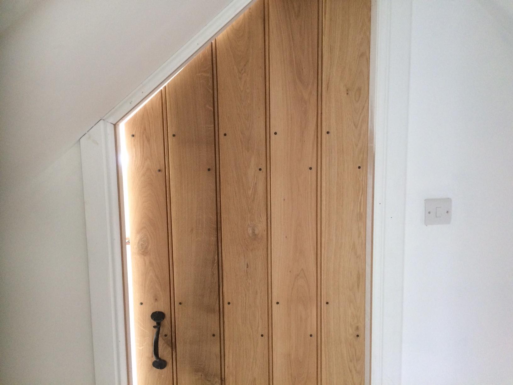 bedroom doors installed
