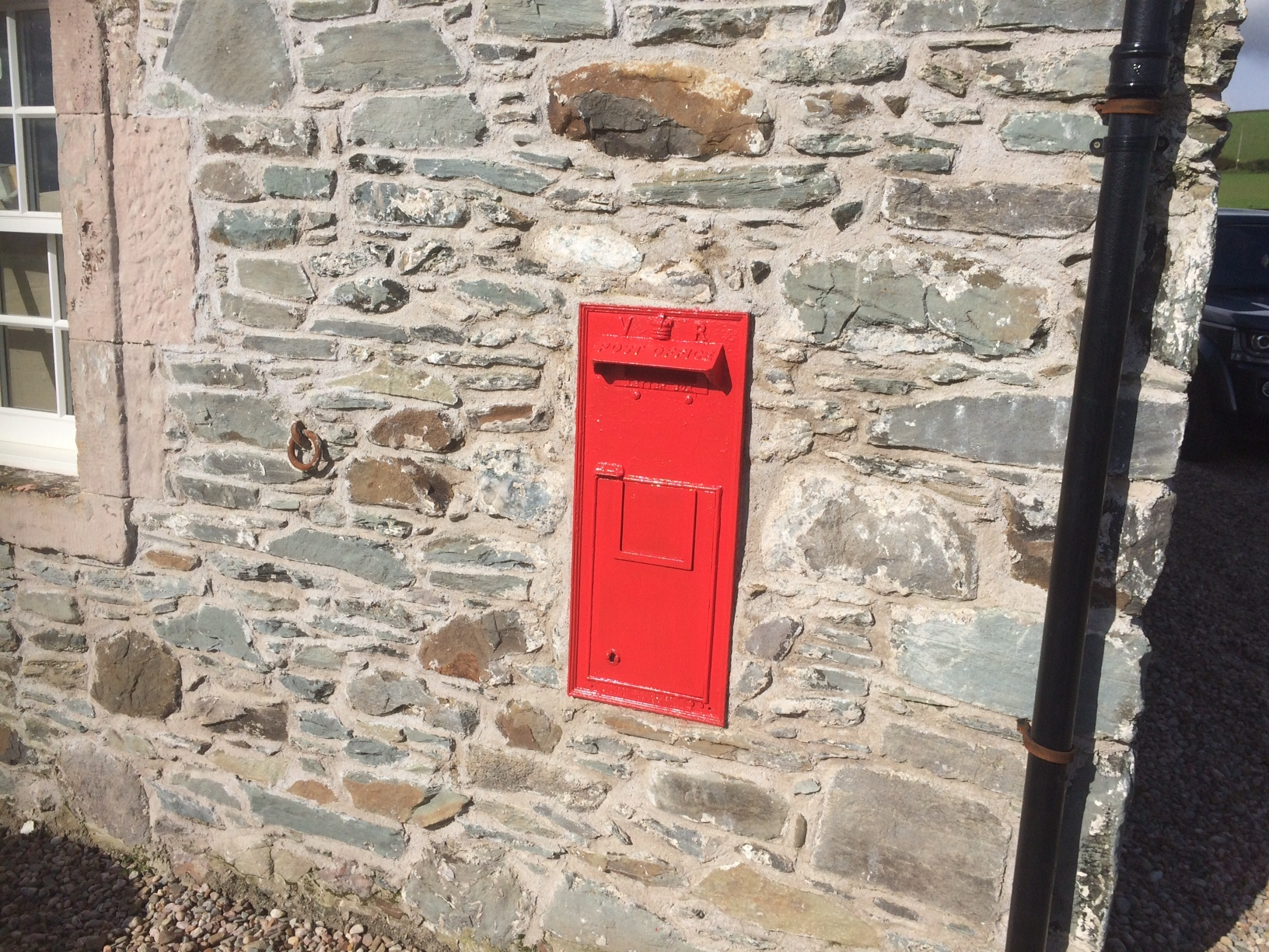 post box door made and fitted