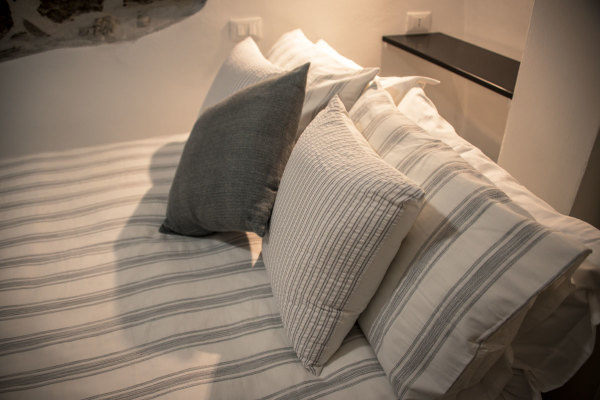 Fine bed linen, Pigna, Liguria Italy