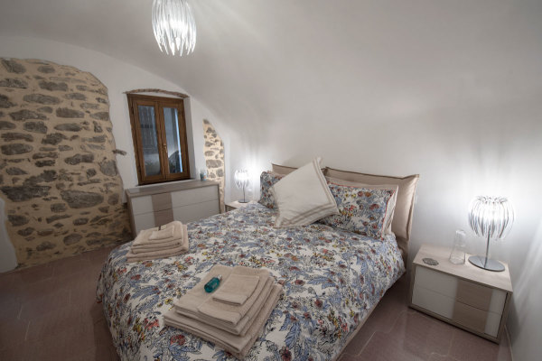 Master bedroom, Liguria, Italy