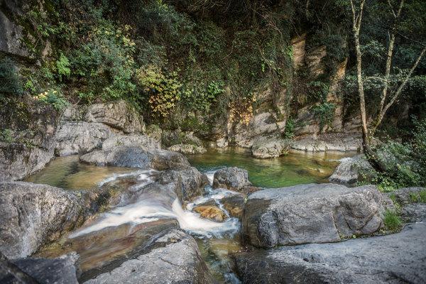 Rockpools, Pigna, Liguria, Italian Riviera