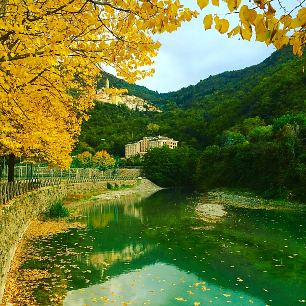 Autumn in Pigna, Liguria Italian Riviera