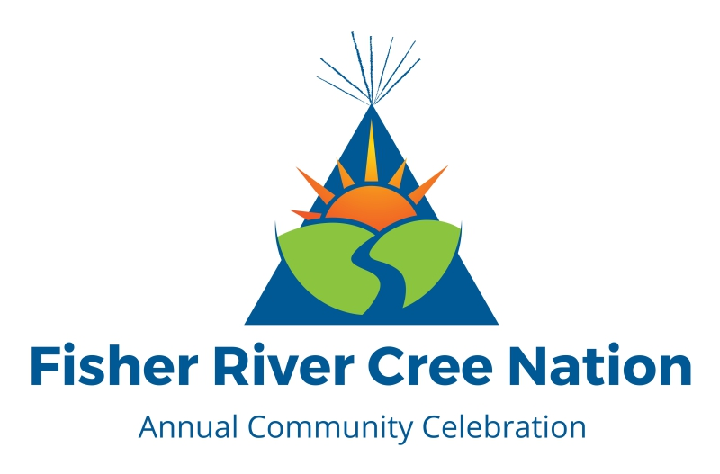 Fisher River Annual Community Celebration - Logo Design