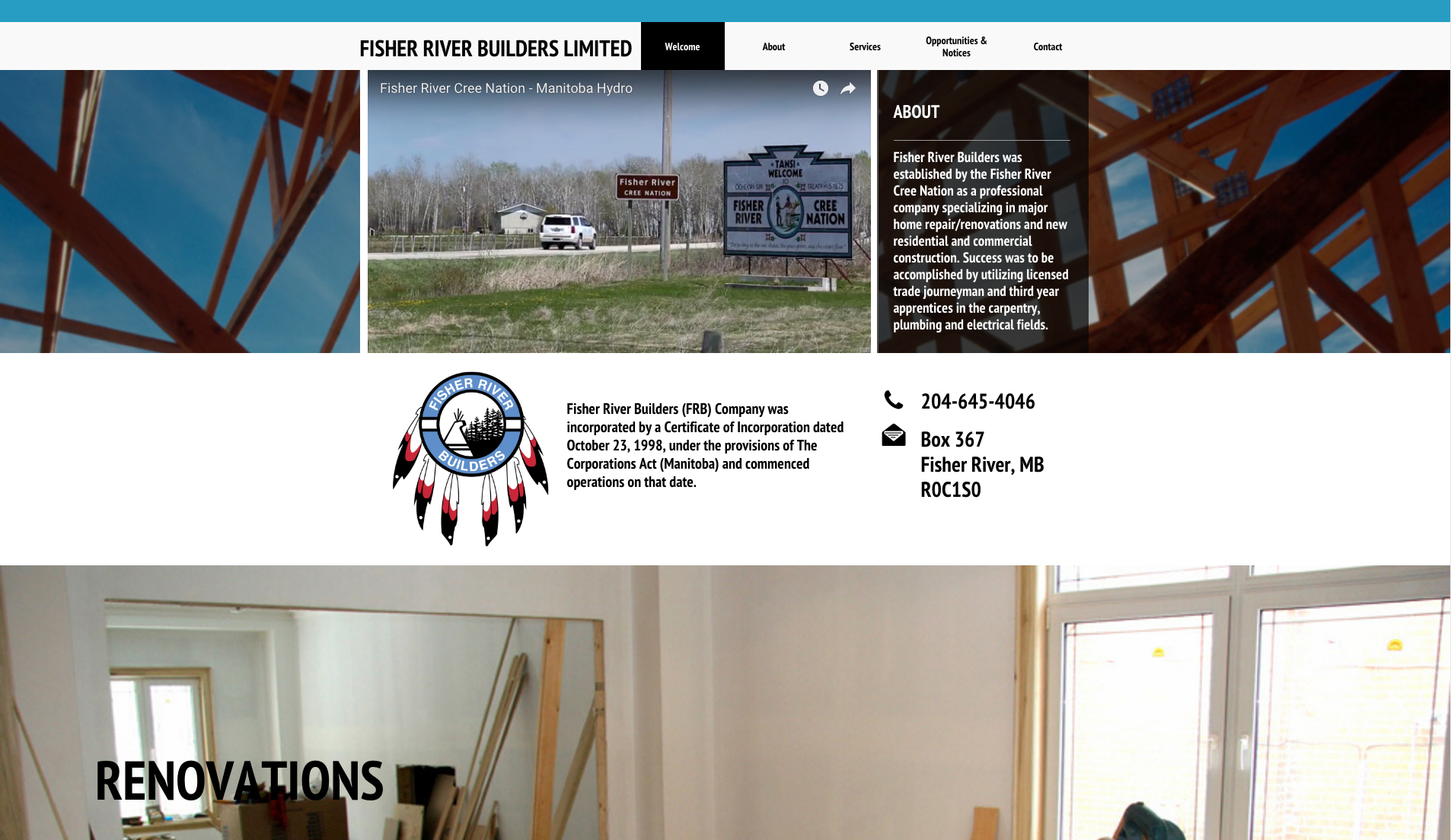 Fisher River Builders Limited - Light Plan