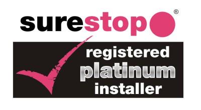 Surestop Stopcock Switch Logo