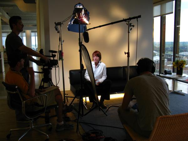 Lighting an Interview