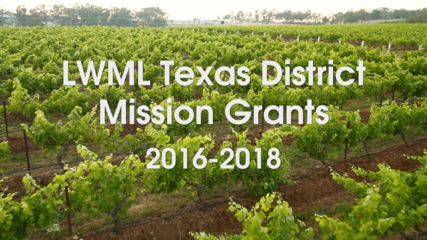 2016 Mission Grants video available for download.