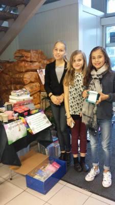 Donasjon fra 3 jenter på 10år.