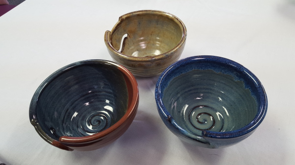 Neal Pottery Yarn Bowls