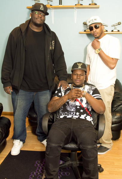 T-Rifik (VP, Gman ENT Music Group), Sound Solution (2X UBL Champ), Alex Deal (CEO, RHK)