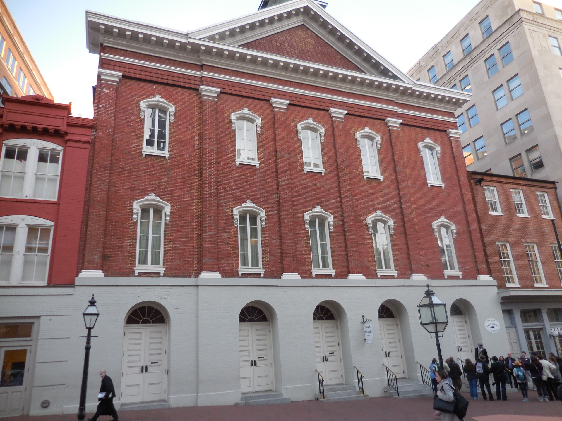 Ford's Theatre on the anniversary of Lincoln's assassination
