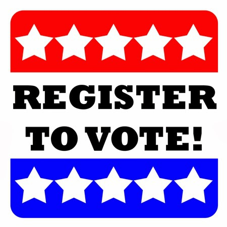 REGISTER TO VOTE---
