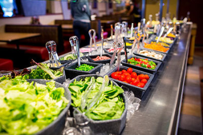 Bountiful Salad Bar!