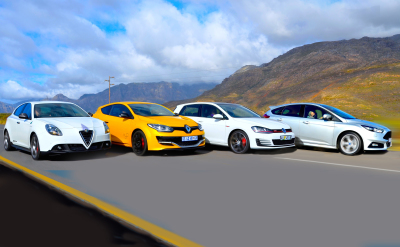 Fantastic four hot hatches offer a little more than the run of the mill - Image: Michele Lupini