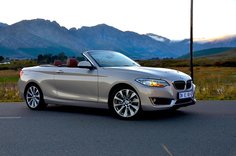 228i is a convertible revelation - image: Michele Lupini