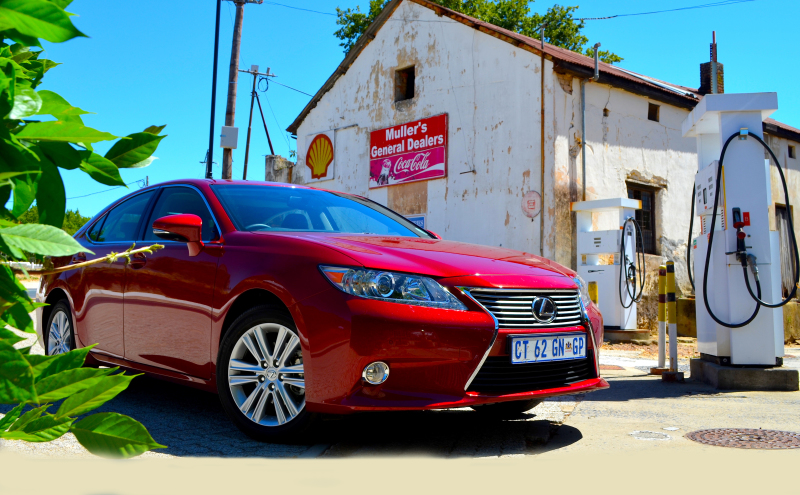 Affordable Lexus ES oozes elegance. Image: Marcella Lupini