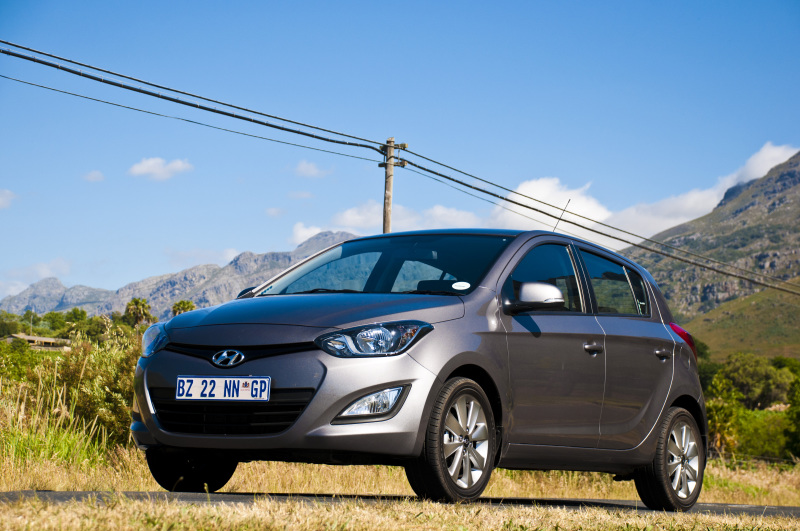 Hyundai i20 does everything a small car should. Image: Andrew Middleton