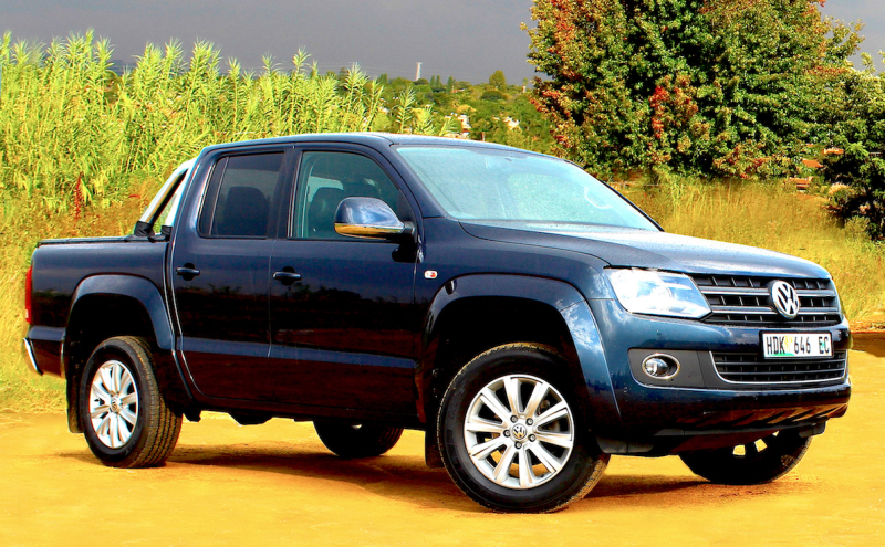 VW's 8-speed automatic Amarok stars rear drive application. Image: Steve Mearns