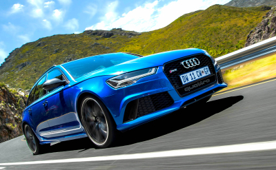 Audi takes the station wagon to a new level. Image - Bryce Barnard