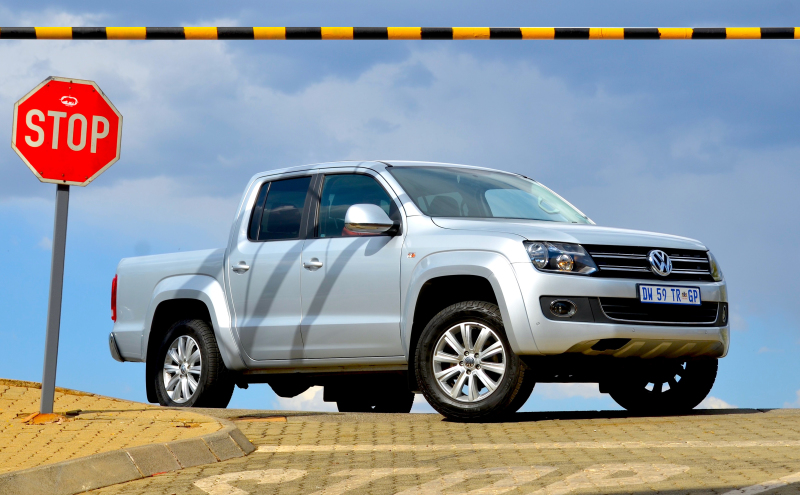 8-speed automatic gearbox and rear drive deliver VW's best Amarok yet. Image: Michele Lupini