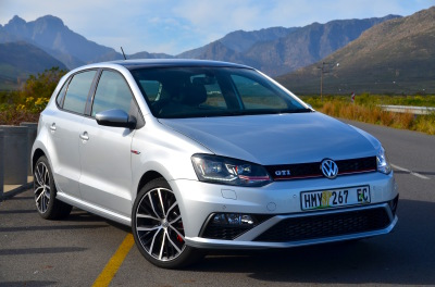 The manual is the most powerful Polo GTI. Image: Michele Lupini