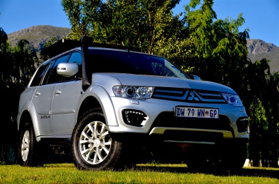 Mitsubishi's Pajero Sport special. Image: Giordano Lupini