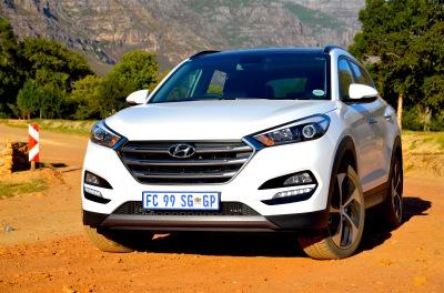 Hyundai Tucson 1.6 Turbo Elite. Image – Michele Lupini
