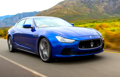 Drivers car of the year 2017 Finalist - Maserati Ghibli. Image - Matteo Conti