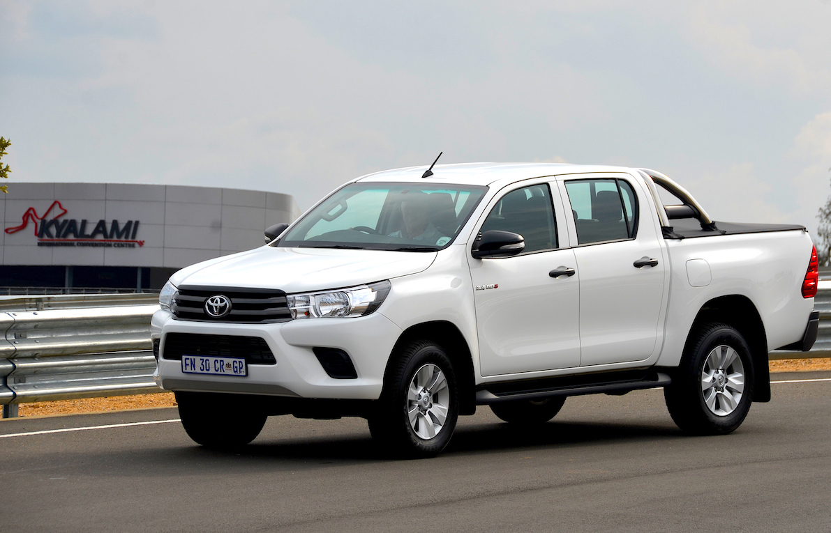 Best Bakkie Finalist: Toyota Hilux 2.4 GD-6. Image - Michele Lupini