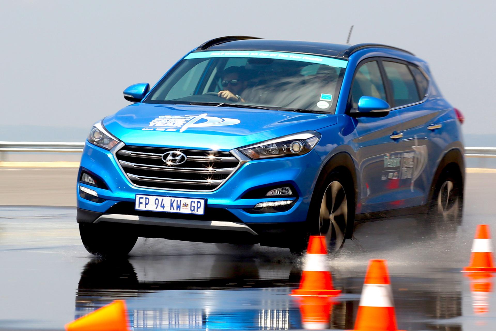 Hyundai Tucson 1.6 TGDI Elite DCT. Image – Inga Hendricks