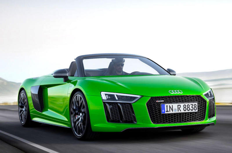 NEW – Audi R8 Spyder V10 Plus