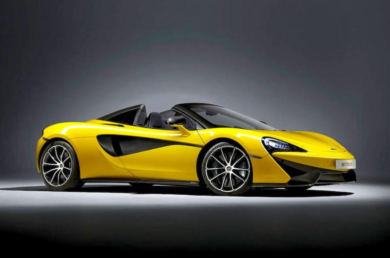NEW - McLaren 570S Spider